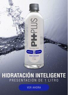 Litro de Agua Alcalina PH Plus venta online