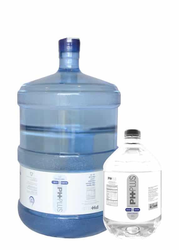 Recarga de botellon de 19 litros de ph plus