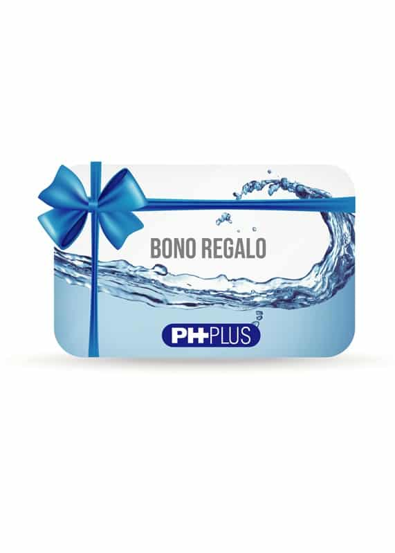 Compra el bono de regalo de agua alcalina ph plus