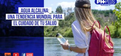 Agua Alcalina: Una tendencia mundial para el cuidado de tu salud.